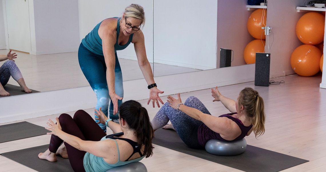 Pilates Plus til de morgenfriske